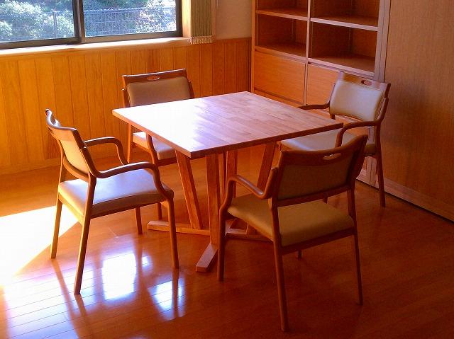 テーブル 木製家具 八女市 有限会社井上製作所