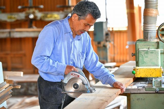 施工風景 製作風景 オーダー家具 オーダー建具 有限会社井上製作所