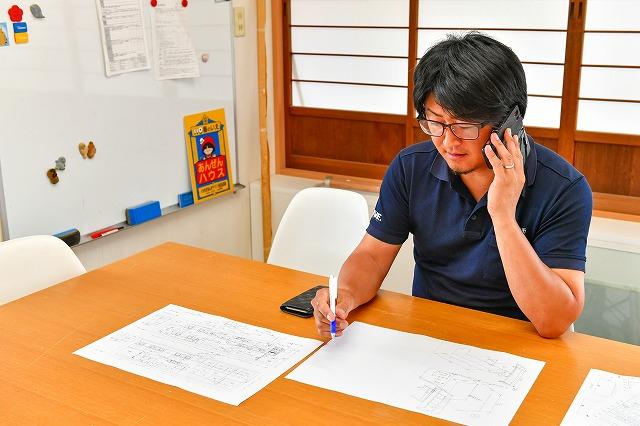 見積もり提案 製作風景 オーダー家具 オーダー建具 有限会社井上製作所