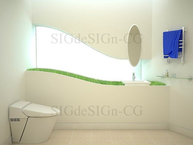 トイレ洗面カウンター 木製家具 八女市 有限会社井上製作所
